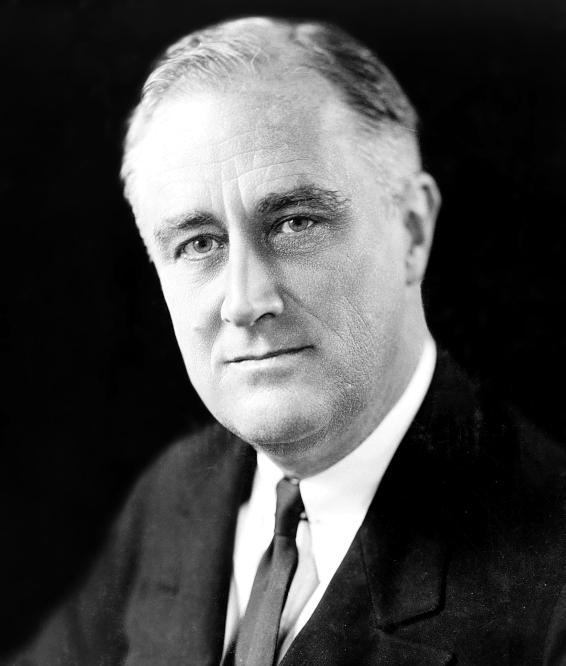 Franklin D. Roosevelt en 1933